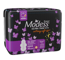 Modess® All Night Ultra Thin